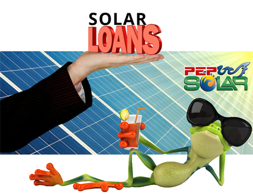 PEP Solar NEVER offers a solar lease (you are better off just buying a new HVAC system if you have to lease for any reason), that's why we offer you very low interest rate unsecured loan programs approved in 5 minutes helping you to beat your electric bill almost immediately.  Even better, you Own Your Solar!