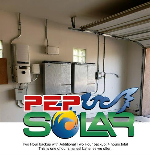 PEP Solar is certified for advanced solar solutions