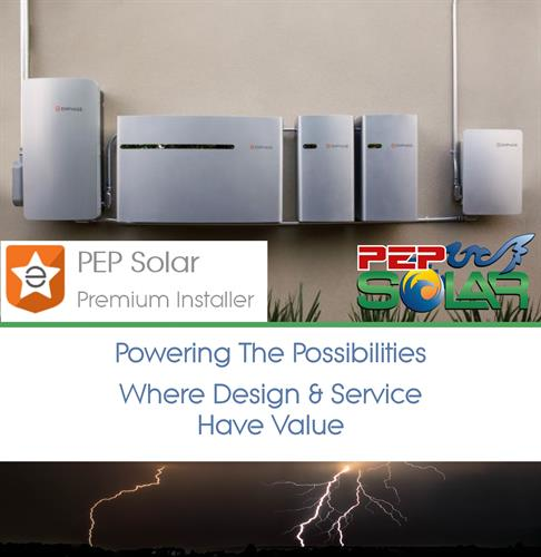 PEP Solar has been installing solar batteries for 40 years