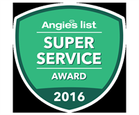 Angie's List Super Service Award for 2016