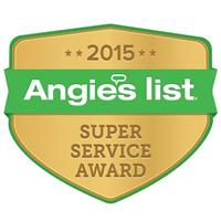 Angie's List Super Service Award for 2015