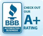 Perfect A+ Rating for over 12+ yrs with the BBB
