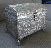 Spanish Colonial Chest-Jewelry Casket