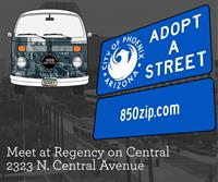 Adopt-A-Street Quarterly Clean Up.  Come Join Us :)