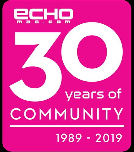 Echo Magazine 30 Year Special Logo