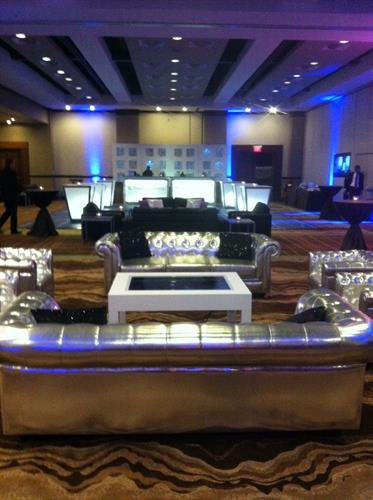 Great design makes a perfect corporate event.