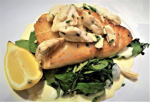 The freshest seafood, steaks & more at Saltwater Grill, Galveston's Restaurant of the Year!