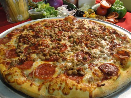 Pizza, pasta, & wings at Papa's Pizza