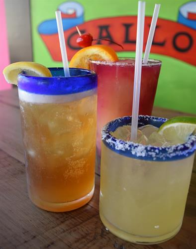 The best margaritas are at Taquilo's with Happy Hour from 11am-7pm Sunday-Friday