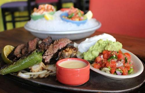 The freshest Tex-Mex, including fajitas, ceviches & margaritas at Taquilo's