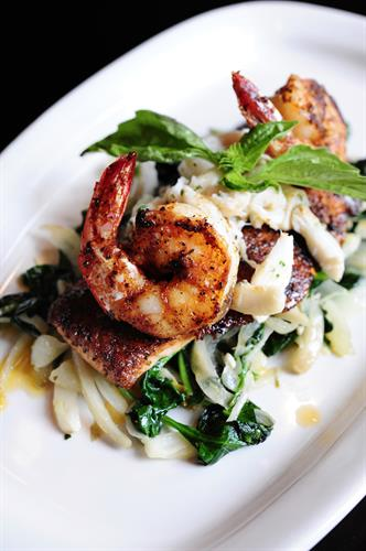 Fresh seafood and Italian fare at Nonno Tony's Seafood Kitchen