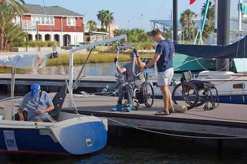 Adaptive Sailing programs available.