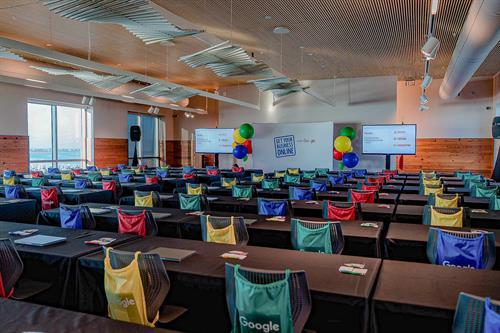 Corporate meeting spaces.