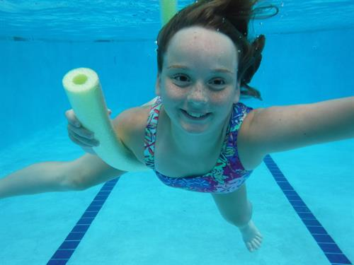 Having a blast at Aquatic Adventure Summer Camp!