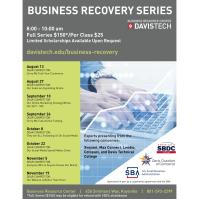 Business Recovery Series: Sorry We Took All the Funding