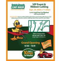 Quick Quack Car Wash-North Salt Lake Ribbon Cutting