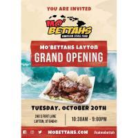 Mo'Bettahs Layton Grand Opening