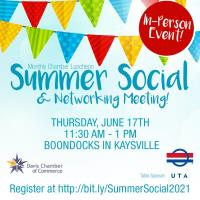 Summer Social & Networking [In-Person] Luncheon
