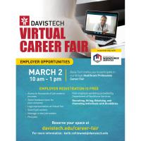Davis Technical College Virtual Job Fair