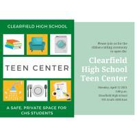 Clearfield High School Teen Center Ribbon Cutting