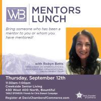 September Women in Business Mentors Luncheon