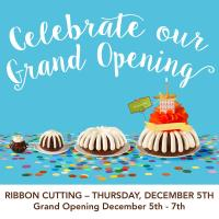Nothing Bundt Cakes Ribbon Cutting