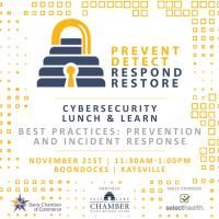 November Chamber Luncheon - Cybersecurity Best Practices: Prevention & Incident Response