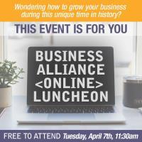 ONLINE Business Alliance Networking Luncheon