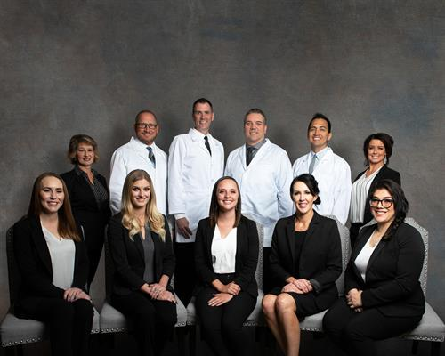 Doctor and management team of Stubbs Dental