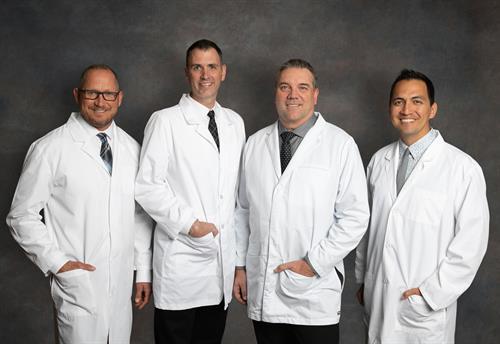 Dr. Willardsen, Dr. Kuchenmeister, Dr. Phillips, Dr. Stubbs