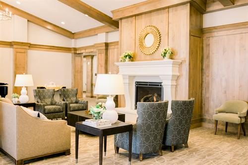 Whisper Cove Assisted Living and Memory Care of Kaysville Lobby Rendering