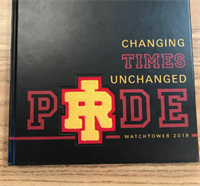 Rocky 2019 Yearbook Wins National Design Award!