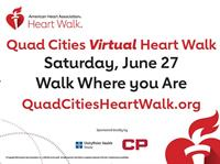 News Release: 5/5/2020- Quad Cities Heart Walk goes Virtual