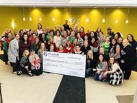 THE GROUP DONATES OVER $50,000 TO NO FOOT TOO SMALL BIRTHING + BEREAVEMENT SUITE AT GENESIS EAST MEDICAL CENTER - DAVENPORT, IA
