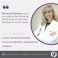 Dr. Anita L. Pinc Memorial Scholarship