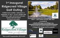 1st Inaugural Ridgecrest Village Golf Outing