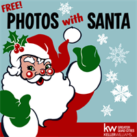 Santa is coming to Keller Williams Greater Quad Cities