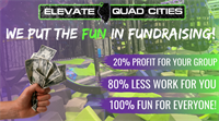 Have a blast raising funds for your organization with Elevate Trampoline Park!