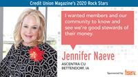 Ascentra Credit Union CMO Named 2020 Credit Union Rock Star