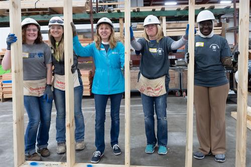 Habitat brings together everyone to build a better community.