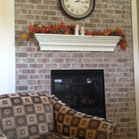 Hyland Park - Activity Room Fireplace