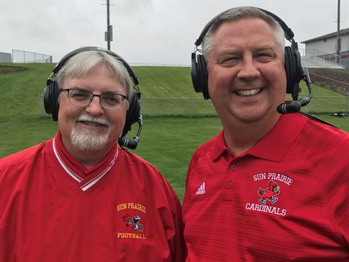 Sun Prairie Football Broadcast Team