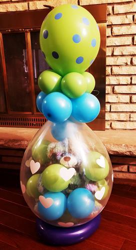 Teddy Bear in Balloon