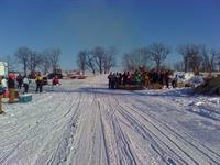 Prairie Riders Snowmobile Club Bonfire