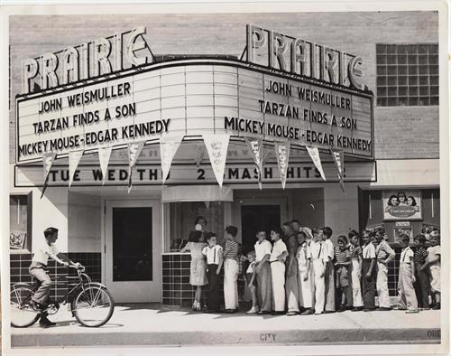 Prairie Theater circa 1940