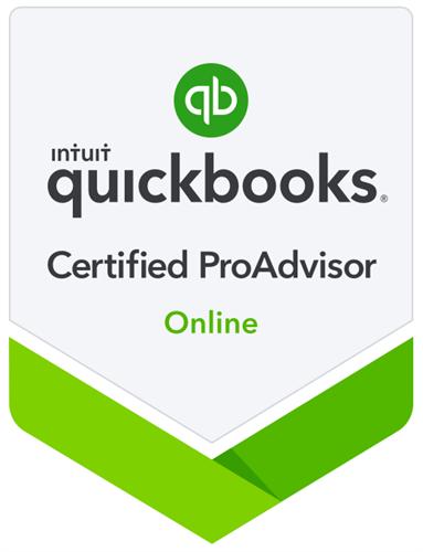 Certified ProAdvisor - QuickBooks Online