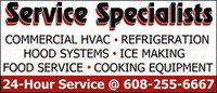 Service Specialists of Dane Co Inc