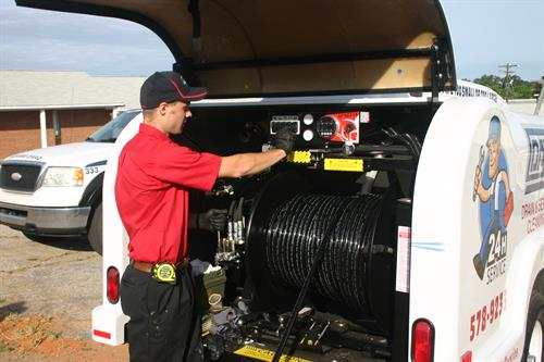 Jetting service for Sewer Lines