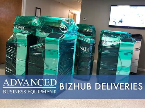 We make businesses across the Upstate happier every day with our equipment deliveries