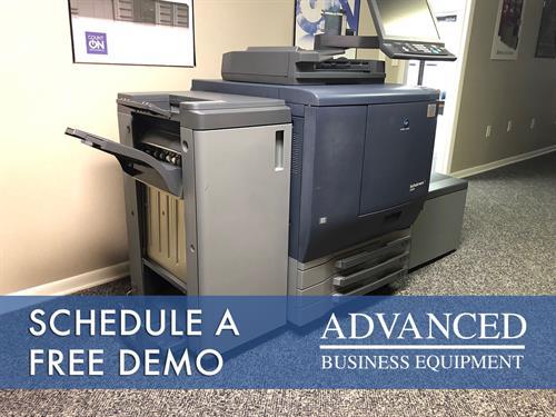 Take a test drive: schedule a free demo